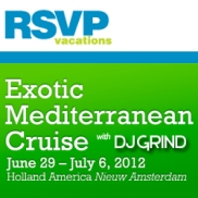 RSVP 2012 Med Cruise w DJ GRIND