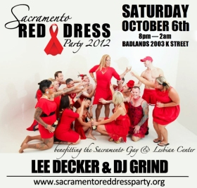 Sacramento Red Dress Party