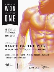 NYC Pride Pier Dance